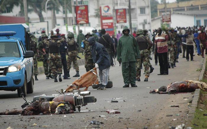 Strade in Baqa, Nigeria