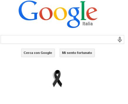 Google in lutto