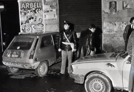 Foto della scena del crimine