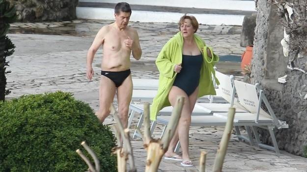 Merkel in vacanza a Ischia