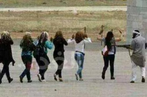 Donne civili rapite dal Califfato