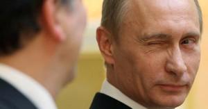 Putin ti fa l'occhiolino