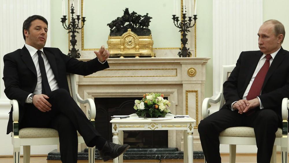 Renzi Putin
