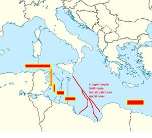 Tratte alternative che puntano la Sicilia